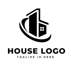Initial B house logo design inspiration