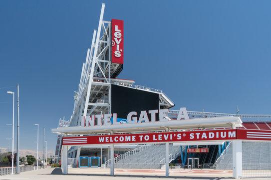 Levi's Stadium Exterior and Logo