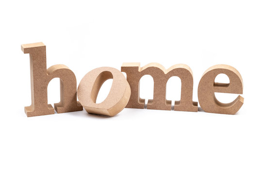 Home Word Isolated