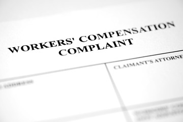 Worker's Compensation Complaint Form