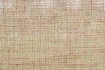 Photo texture of burlap light color made from natural linen material