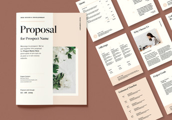 Minimalist Business Proposal Layout
