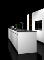 Moderne Küche, Einbauküche, Küchenzeile