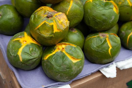 fresh lucuma fruit