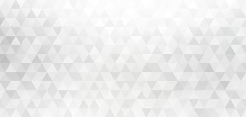 White gray diamond geometric background. Triangle shapes creative pattern. Luxury business design.
