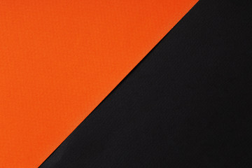 orange and black paper background