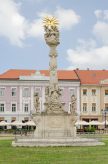Timișoara Piața Unirii Pestsäule Dreifaltigkeitssäule