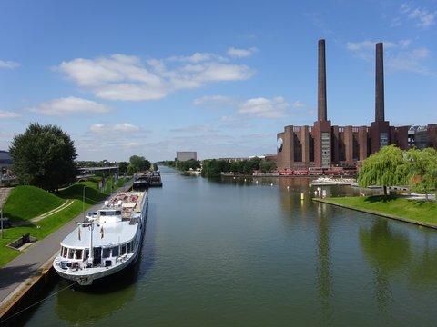Mittellandkanal in Wolfsburg