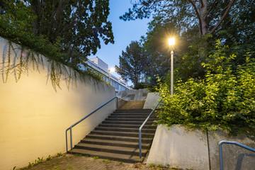 Treppe in der Nacht 3