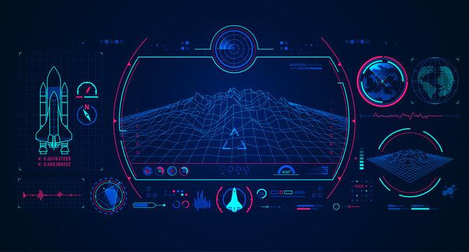 spaceship radar