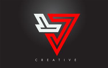 V Letter Monogram Design Logo. Letter V Icon Logo with Modern Monogram
