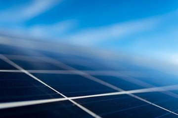 Obraz solar panel on sky background - fototapety do salonu