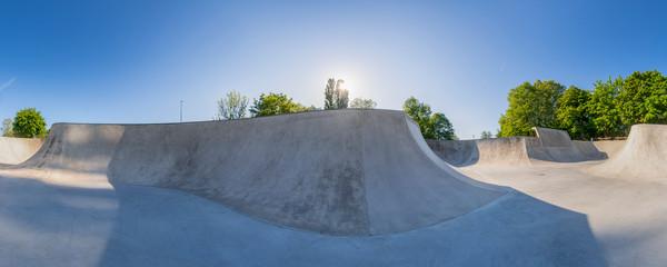 Skatepark Waiblingen, Rems-Murr-Kreis, Baden Württemberg, Deutschland
