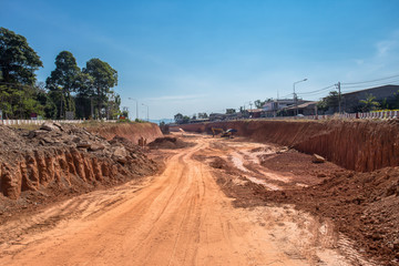 Construction Industry, Construction Site, Industry, Road Construction, Working