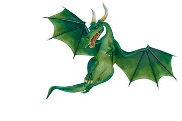 dragon cartoon is watchingn