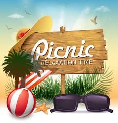 picnic message