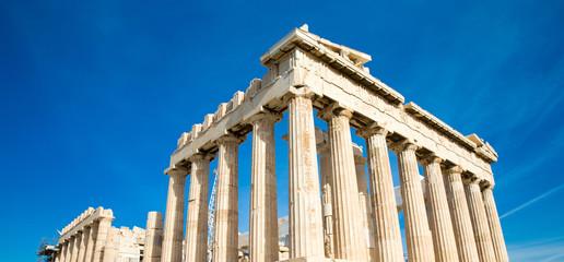 Printed kitchen splashbacks Athens Parthenon on the Acropolis in Athens, Greece
