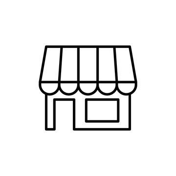Retail Store, shope icon vector symbol illustration