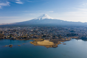 Mt Fuji and Kawaguchiko in Japan