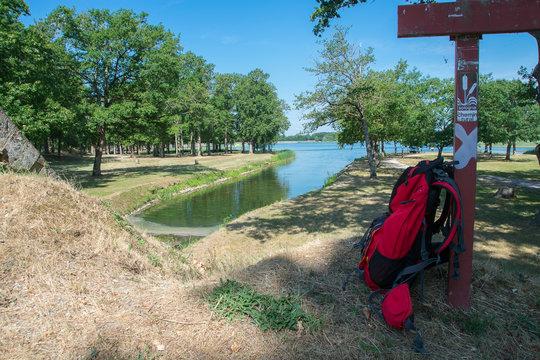 balade à l'étang du puits
