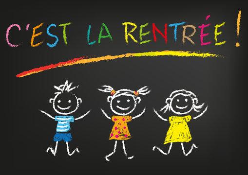 RENTRÉE DES CLASSES - Ecole