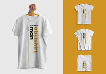 4 T-Shirt Mockups