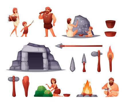 Prehistoric Caveman Set