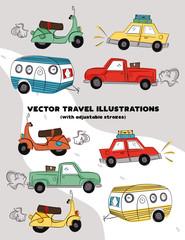 Vector Travel Illustrations