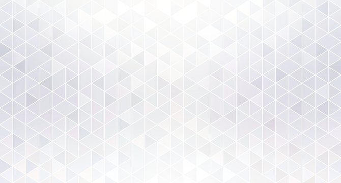 Shiny geometric white abstract background. Shimmer mosaic subtle wallpaper.