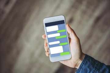 スマートフォン・トーク・アプリ
