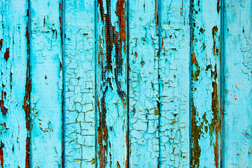 Texture, wood, wall, it can be used as a background. Wooden texture with scratches and cracks Wall mural