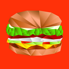 Polygonal Burger