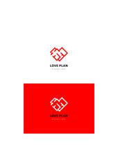 House company logo template.