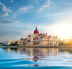 Fototapete - Parliament in Budapest