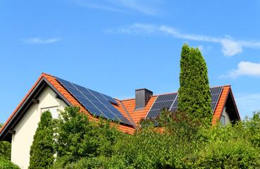 Solardach im Grünen