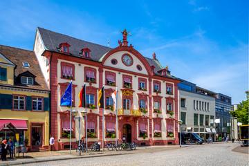 Rathaus, Offenburg, Schwarzwald, Oberrhein, Deutschland
