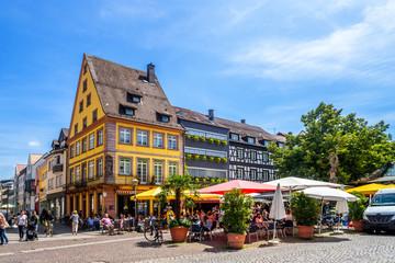 Altstadt, Offenburg, Deutschland  Fototapete