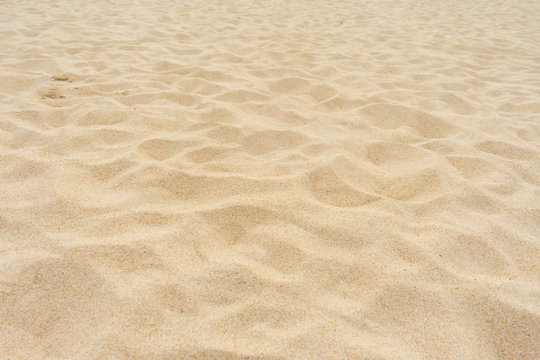 Yellow beach sand texture.
