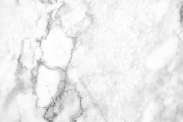Photo sur Aluminium White marble texture