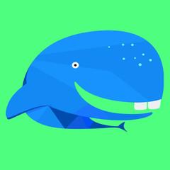Whale (Flat shaded)