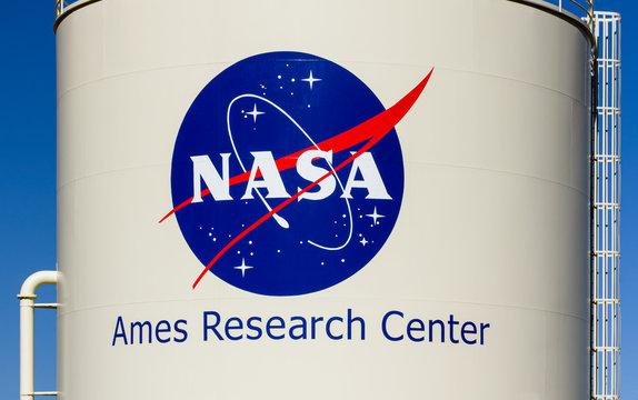 NASA Ames Research Center and Trademark Logo
