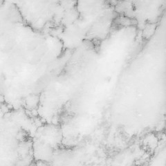 Photo sur Aluminium White marble texture abstract background pattern with high resolution.