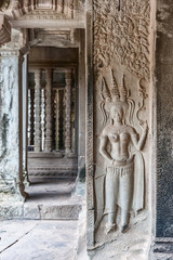 Apsara at Angkor Wat