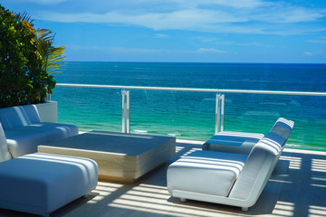 Condo Beachfront Balcony
