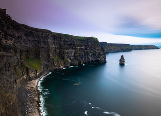 Ireland Cliffs of Moher at sunset