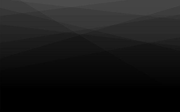 Abstract black geometric layer shape subtle vector background illustration