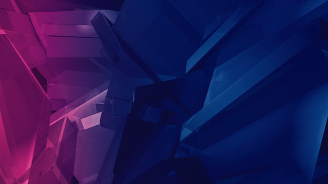 Computer generated polygonal background, suitable for compositions