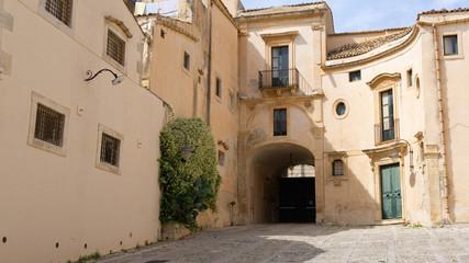 Fototapeta Noto, Sycylia, Włochy, schody, katedra,  obraz