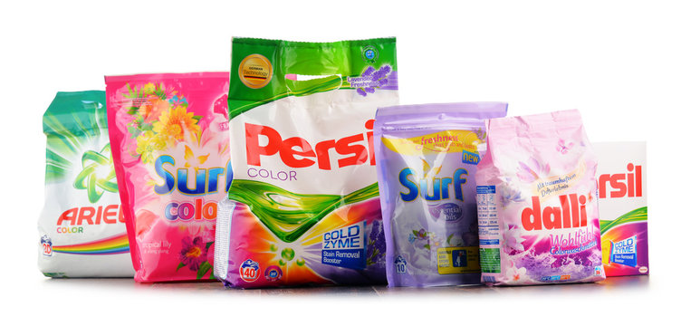 Top global washing detergent brands