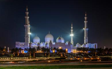 Great Sheikh Zayed Grand Mosque in Abu Dhabi